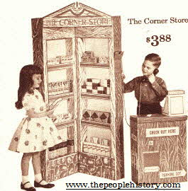 Cornerstore Play Shop From The 1960s