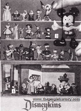 Disneykins From The 1960s