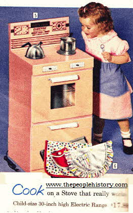 Electric Stove Makes Real Cakes From The 1960s