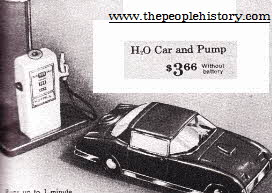 H2O Car and Pump From The 1960s