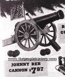 Johny Reb Cannon From The 1960s
