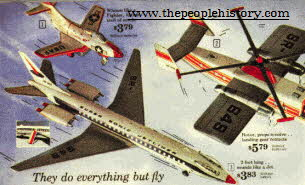 Model Planes From The 1960s