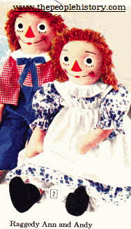 Raggedy Ann and Andy From The 1960s