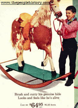 Rocking Horse From The 1960s