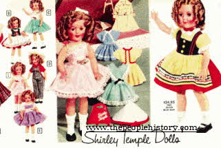 Shirley temple dolls From The 1960s
