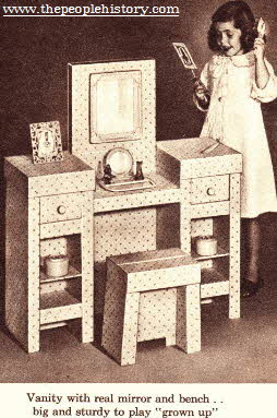 vanity set From The 1960s