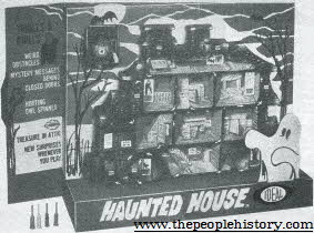 Haunted House Game From The 1960s