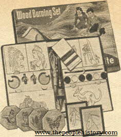 Wood Burning Set From The 1960s
