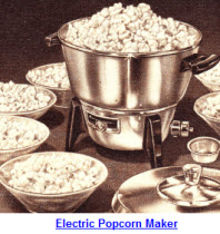 sixties electric popcorn maker