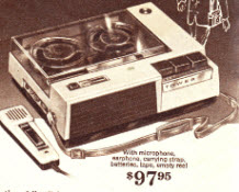 New Transistorized Tape Recorder