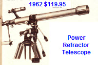 454 Power Refractor Telescope