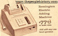 Remmington 60s Electric Adding Machine