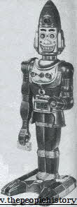 Big Loo Moon Robot From The 1960s