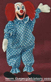 Bozo the Clown Talking Doll From The 1960s