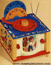 Musical TV Phonograph From The 1960s
