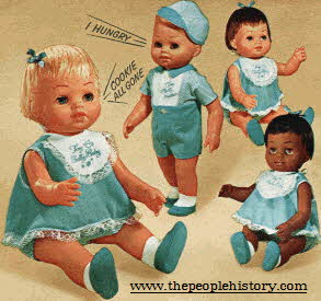 Tiny Chatty Babies From The 1960s