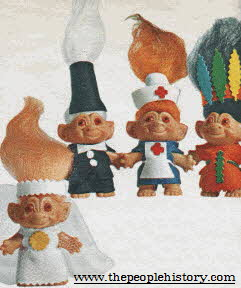 Troll Dolls From The 1960s