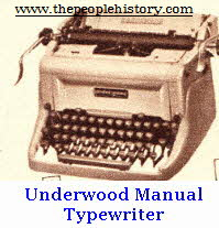 Underwood 1960s Manual Typewriter