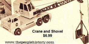 Crane and Shovel Model From The 1960s