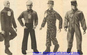 Early 60's G.I. Joe Figures