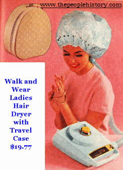 Ladies Walk and Wear Hair Dryer