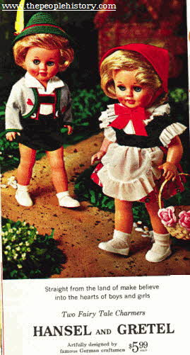 Hansel and Gretel Models From The 1960s
