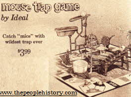 Game Of Mousetrap From The 1960s