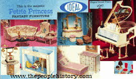 Petite Princess Furniture From The 1960s