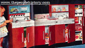 Play Kitchen From The 1960s