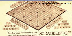 Scrabble From The 1960s