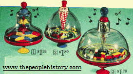 Spinning Tops From The 1960s
