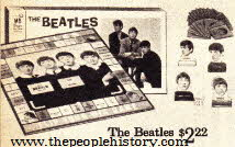 The Beatles Board Game From The 1960s