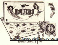 Bewitched Board Game From The 1960s