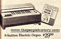 Electric Organ From The 1960s