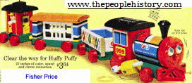 Fisher Price Train  From The 1960s