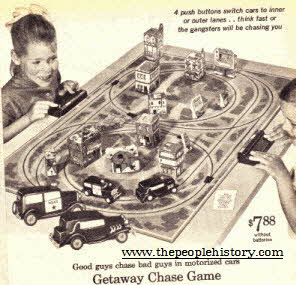 Getaway Motorized Chase Game From The 1960s