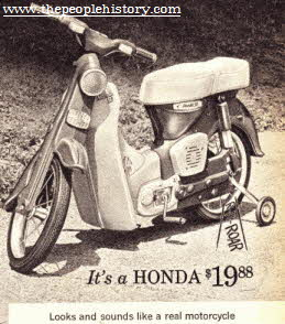 Honda Pedal Bike  From The 1960s