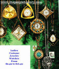 Ladies Mid 60's Costume Jewelry Watches