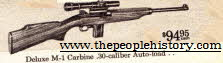 M1 Carbine .30-caliber Auto Load Rifle