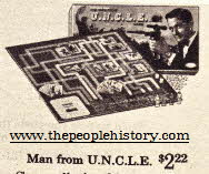 Man From Uncle Board Game From The 1960s