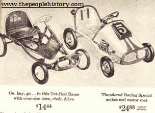 Pedal Cars  From The 1960s
