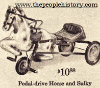 Ride on Horse and Buggy From The 1960s
