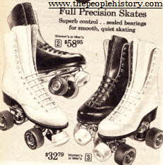 Men's and Women's Roller Skates