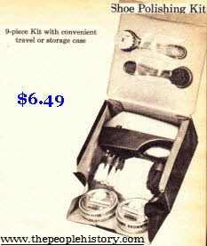 Shoe Polishing Kit