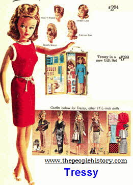 Tressy Doll From The 1960s