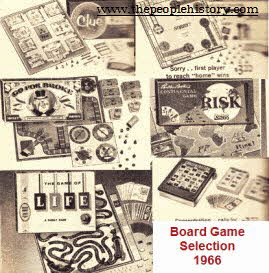 Selection Of Board Games including Life, Sorry, Clue and Risk From The 1960s