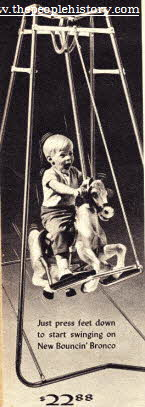 Bouncin Bronco Swing From The 1960s