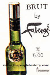 Brut By Faberge Aftershave