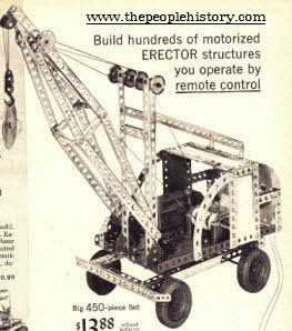 Erector Construction Set from the 60's