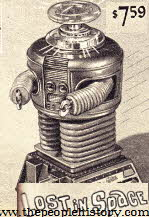 Lost In Space Robot From The 1960s